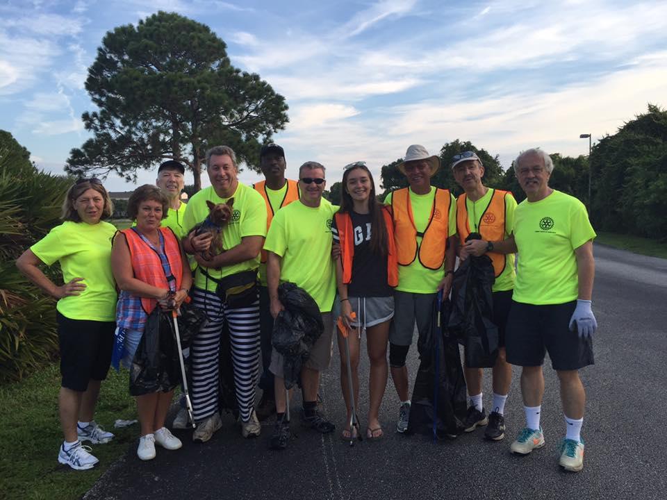 Suntree Rotary Road Cleanups